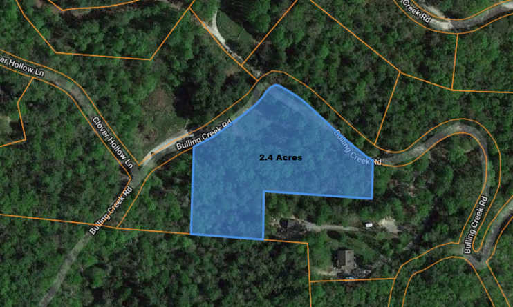 2.4 Acre Lot in Henderson County, NC – Mobiles allowed